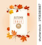 Autumn Sale Promo Banner With...