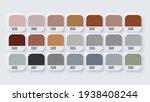 pantone colour palette catalog... | Shutterstock .eps vector #1938408244