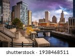 Panoramic Cityscape Of...
