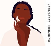 black female face and beauty... | Shutterstock .eps vector #1938478897
