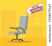 we are hiring on the label on... | Shutterstock .eps vector #1938479167