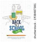 back to school with school... | Shutterstock .eps vector #1938487381