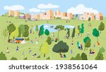 active family weekend in the... | Shutterstock .eps vector #1938561064