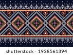 geometric ethnic oriental ikat... | Shutterstock .eps vector #1938561394