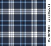 plaid pattern seamless in blue...   Shutterstock .eps vector #1938562261