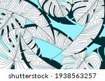 linear tropical background ...   Shutterstock .eps vector #1938563257
