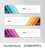 vector abstract banner design... | Shutterstock .eps vector #1938649951