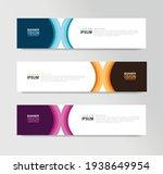 vector abstract banner design... | Shutterstock .eps vector #1938649954
