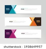 vector abstract banner design... | Shutterstock .eps vector #1938649957