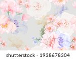 Rose Seamless Pattern With...