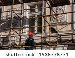 Man Builder In Orange...