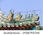 Roof Of A Temple In Beijing ...
