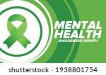 mental health awareness month... | Shutterstock .eps vector #1938801754