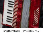 The Old Rare Red Accordion...