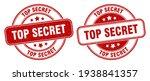 top secret stamp. top secret... | Shutterstock .eps vector #1938841357