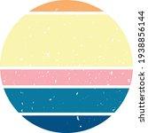 sunset circle clip art... | Shutterstock .eps vector #1938856144