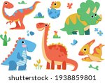 Clipart Set Of Cute Colored...