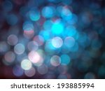 colorful bokeh lights | Shutterstock . vector #193885994