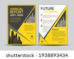 annual report cover design ...   Shutterstock .eps vector #1938893434