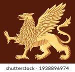 illustration of a golden... | Shutterstock .eps vector #1938896974