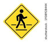 Traffic Road Signs. Pedestrian...
