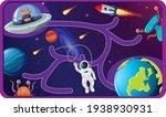 cute cartoon maze game template ...   Shutterstock .eps vector #1938930931