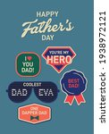 father's day greeting design... | Shutterstock .eps vector #1938972121