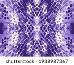 Seamless Animal Print. Violet...