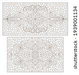 set contour illustrations of... | Shutterstock .eps vector #1939001134