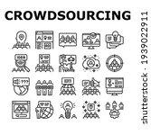 crowdsourcing business... | Shutterstock .eps vector #1939022911