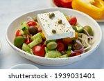 Greek Village Salad Horiatiki...
