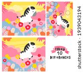 find 10 differences with a... | Shutterstock .eps vector #1939043194
