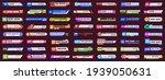 lower third tv news bars.... | Shutterstock .eps vector #1939050631