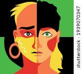 modern colorful illustration of ... | Shutterstock .eps vector #1939070347