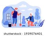 senior man and woman family...   Shutterstock .eps vector #1939076401