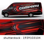 delivery van vector design. car ... | Shutterstock .eps vector #1939103104