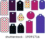 tag collection | Shutterstock . vector #19391716