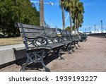 Outdoor Benches Near The...
