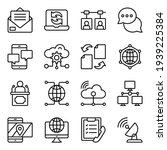 pack of cloud  technology and...   Shutterstock .eps vector #1939225384