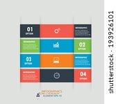 modern design infographics... | Shutterstock .eps vector #193926101