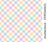 vichy pattern spring summer in... | Shutterstock .eps vector #1939264621