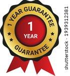 1 year warranty images  stock...   Shutterstock .eps vector #1939312381