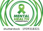 mental health awareness month... | Shutterstock .eps vector #1939318321