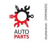 vector logo of car parts  auto... | Shutterstock .eps vector #1939340251