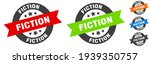 fiction stamp. fiction round...   Shutterstock .eps vector #1939350757