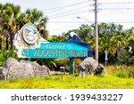 St. Augustine Beach  Usa   May...