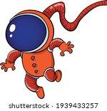 Mars Astronaut In Red Suit