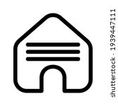 lodging icon or logo isolated...   Shutterstock .eps vector #1939447111
