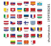 the flags of the country in the ... | Shutterstock .eps vector #1939508281