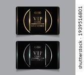 vector vip golden and platinum...   Shutterstock .eps vector #1939516801